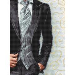 Набор для вышивки крестом Luca-S B2336 Жених