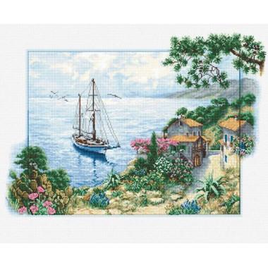 Набор для вышивки крестом Luca-S B2343 Морской пейзаж