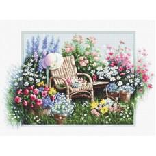 Набор для вышивки крестом Luca-S B2344 Цветущий сад