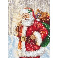 Набор для вышивания Luca-S B575 Дед Мороз