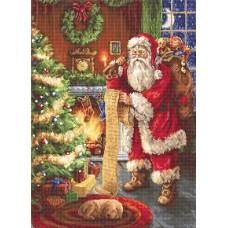 Набор для вышивания Luca-S B578 Дед Мороз