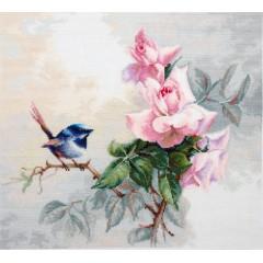 Набор для вышивания Luca-S BA2313 Птичка