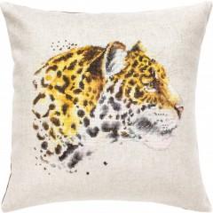 Набор для вышивания подушка Luca-S PB183 Леопард