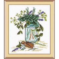 Набор для вышивания М.П.Студия М-018 Запах прованса