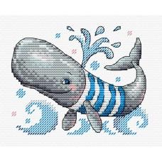 Набор для вышивания М.П.Студия М-352 Забавный пловец