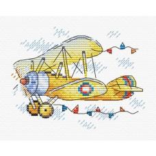 Набор для вышивания М.П.Студия М-369 Очарование полета