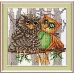 """Набор для вышивания М.П.Cтудия НВ-365 """"Друг совы"""""""
