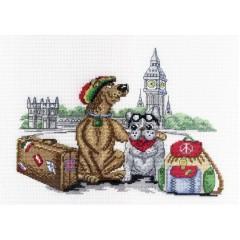 """Набор для вышивания М.П.Cтудия НВ-366 """"В Лондоне"""""""