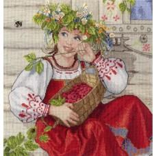 Набор для вышивания М.П.Студия НВ-600 Летняя красавица