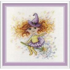 Набор для вышивания М.П.Студия НВ-602 Юная волшебница