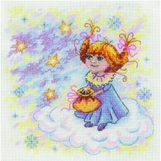Набор для вышивания М.П.Студия НВ-607 Рождественский ангел