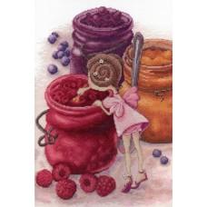 Набор для вышивания М.П.Студия НВ-610 Фея ягодного варенья