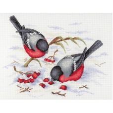 Набор для вышивания М.П.Студия НВ-639 Зимние ягоды