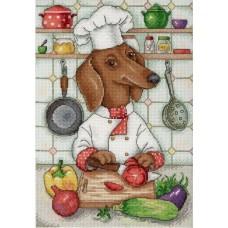 Набор для вышивания М.П.Студия НВ-676 Хвостатый кулинар