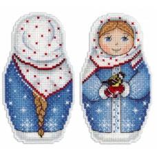 Набор для вышивания М.П.Cтудия Р-265 Зимушка зима