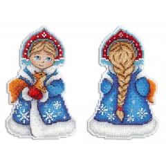 Набор для вышивания М.П.Студия Р-311 Снегурочка