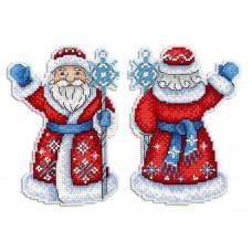 Набор для вышивания М.П.Студия Р-312 Дедушка Мороз