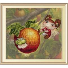 """Набор для вышивания М.П.Cтудия РК-482 """"Яблочная фея"""""""