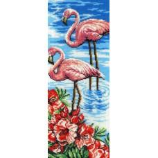 Набор для вышивания бисером  М.П.Cтудия БГ-181 Фламинго
