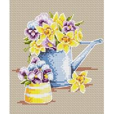Набор для вышивания М.П.Cтудия М-017 Феерия цветов