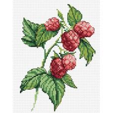 Набор для вышивания М.П.Cтудия М-083 Веточка малины