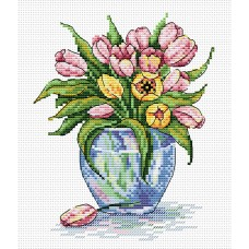 Набор для вышивания М.П.Cтудия М-090 Нежный цветы