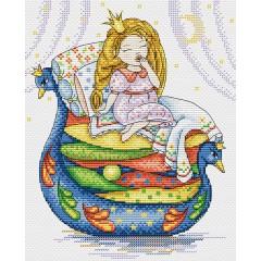 Набор для вышивания М.П.Cтудия М-136 Принцесса на горошине