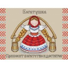 Набор для вышивания М.П.Cтудия М-137 Славянский оберег Богатушка