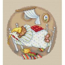 Набор для вышивания М.П.Cтудия М-180 Мишкины сны