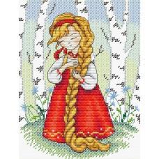 Набор для вышивания М.П.Cтудия М-182 Красна девица