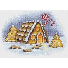 Набор для вышивания М.П.Cтудия М-192 Пряничная зима