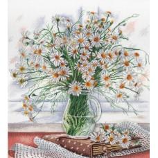 Набор для вышивания М.П.Cтудия НВ-533 Нежность полевых цветов