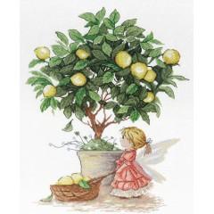 Набор для вышивания М.П.Cтудия НВ-547 Лимонная фея