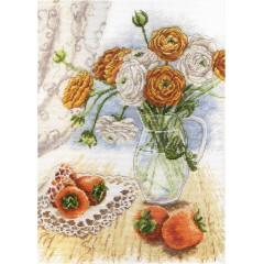 Набор для вышивания М.П.Cтудия НВ-597 Букет садовых лютиков