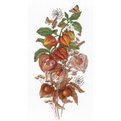 Набор для вышивания М.П.Cтудия НВ-614 Изумрудная ягода