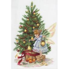 Набор для вышивания М.П.Cтудия НВ-631 Новогодняя фея
