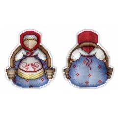 Набор для вышивания М.П.Cтудия Р-155 Оберег Богатушка