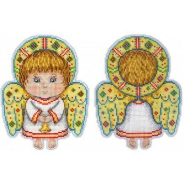 Набор для вышивания М.П.Cтудия Р-158 Ангел-хранитель