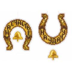 Набор для вышивания М.П.Cтудия Р-159 Золотая подкова