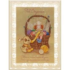 Набор для вышивания М.П.Cтудия РК-517 Фея вязания