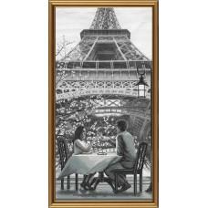 """Набор для вышивания Новая Слобода АС6009 """"Париж - город любви. Молодость"""""""