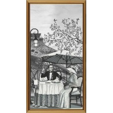 """Набор для вышивания Новая Слобода АС6010 """"Париж - город любви. Зрелость"""""""
