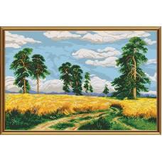 """Рисунки на ткани для вышивания бисером Новая Слобода БИС0288 """"Рожь"""""""