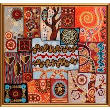 """Рисунки на ткани для вышивания бисером Новая Слобода БИС1296 """"Магические узоры"""""""