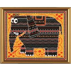 """Рисунки на ткани для вышивания бисером Новая Слобода БИС3027 """"Шанго"""""""