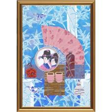 """Рисунки на ткани для вышивания бисером Новая Слобода БИС3196 """"Чайная церемония. Улун"""""""
