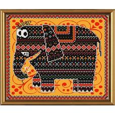 """Рисунки на ткани для вышивания бисером Новая Слобода БИС4017 """"Тенди"""""""