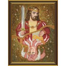 """Рисунки на ткани для вышивания бисером Новая Слобода БИСР1106 """"Король и Шут"""""""