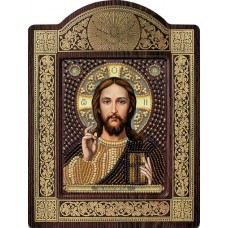 """Набор для вышивания бисером Новая Слобода СН8001 """"Христос Спаситель"""""""