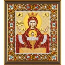 """Набор для вышивания бисером Новая Слобода Д6004 """"Богородица «Неупиваемая чаша»"""""""